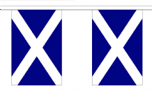 ST ANDREW (DARK BLUE) BUNTING - 18 METRES 30 FLAGS